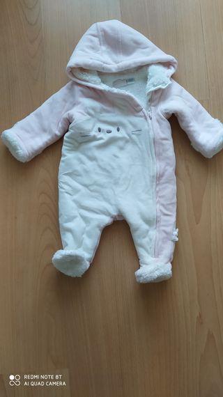 buzo bebe niña talla 3 meses