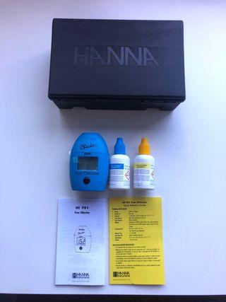 Pack medidor cloro de agua + reactivos
