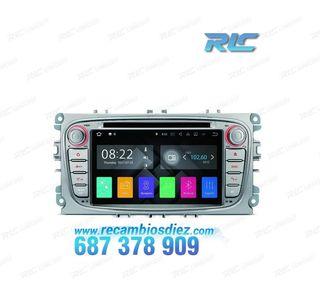 RADIO DVD GPS GRIS FORD FOCUS CMAX SMAX KUGA FIEST