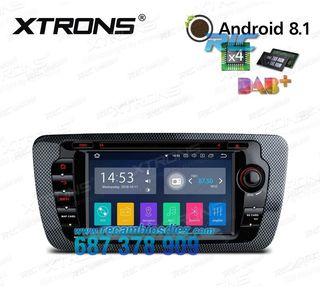 "RADIO DVD GPS TÁCTIL 7"" CANBUS SEAT IBIZA 6J MK4 A"