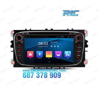 """RADIO GPS 7"""" FORD FOCUS MONDEO...ANDROID 8.1 CANBU"""