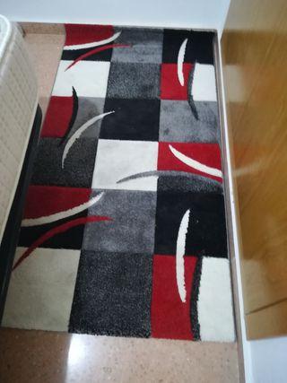 Preciosa alfombra, rojo, negro grs 1,50 x 72