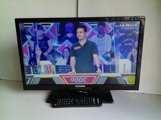 "Tv led telefunken 22""impolura ascao"