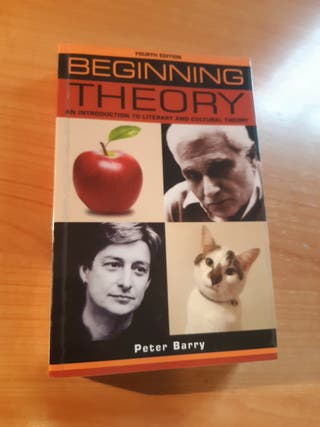 Libro UNED Begining Theory - Peter Barry