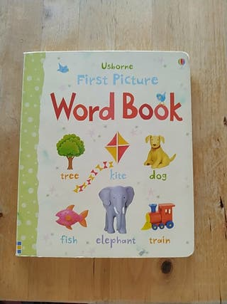 libro en inglés First Picture Word Book
