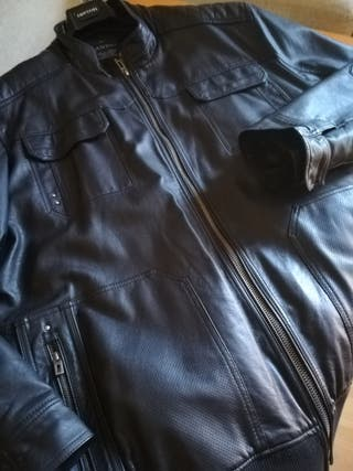 chaqueta de piel 4 xl