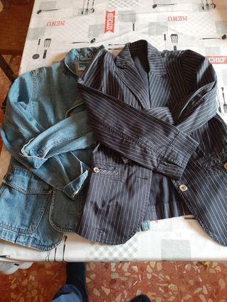 Lote de dos chaquetas.