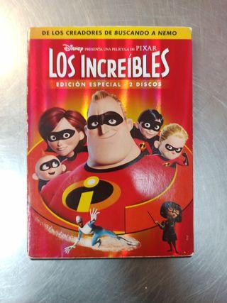 Los Increíbles, DVD