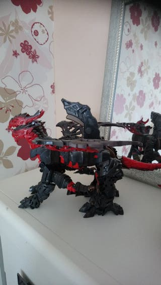 Transformer Dragonstorm turbo change Hasbro +5