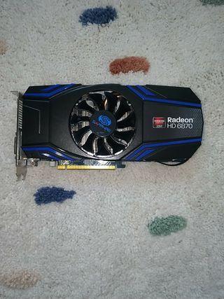 AMD RADEON HD 6870 Tarjeta gráfica