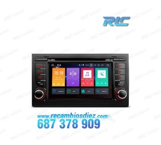 "RADIO DVD GPS TÁCTIL 7"" AUDI A4 SEAT EXEO ANDROID"