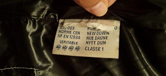 Chaqueta plumas original Moncler S vintage