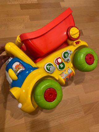 Camión Sansón de Baby Clementoni