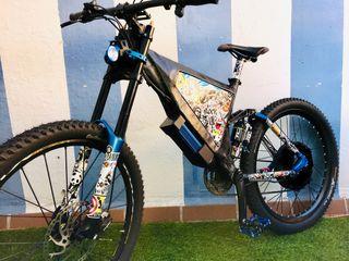 Bicicleta Scott MC50 pasada a electrica 1500w