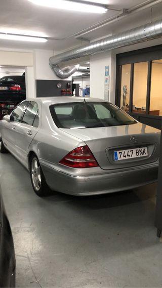 Mercedes-Benz Clase S etiqueta B