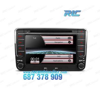 "RADIO GPS 7"" SEAT / SKODA / VW USB GPS TACTIL HD"