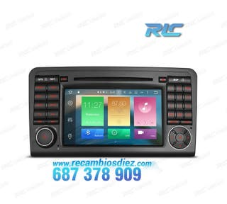 "RADIO GPS ANDROID 6.0 7"" MERCEDES ML W164,GL X164"