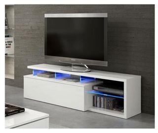 Mueble para TV con luces led Lighten