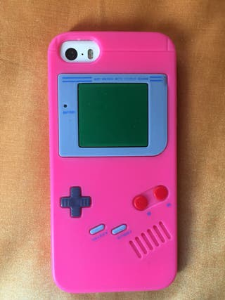 Funda Gameboy iPhone 5S o SE