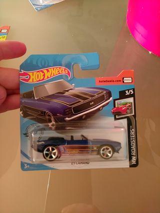 Hot Wheels Camaro del 69