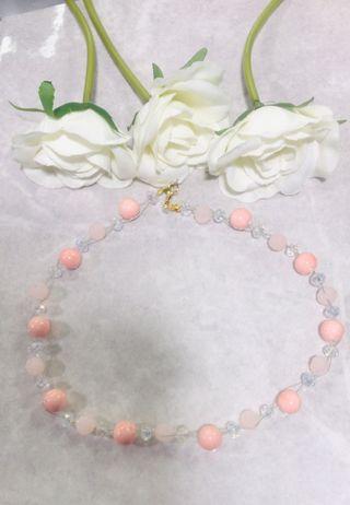 Handmade floating necklace sets