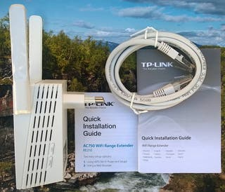 Repetidor WIFI TP-LINK WiFi Range Extender AC750