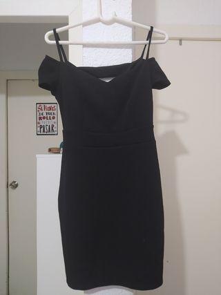vestido de fiesta ceñido negro