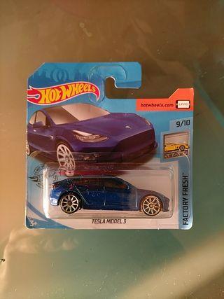 Hot wheels Tesla Model 3