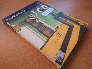 ICO PS2, caja cartón. PAL UK. Completo