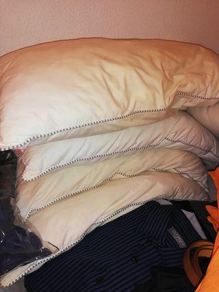 7 almohadas usadas 30€ todas
