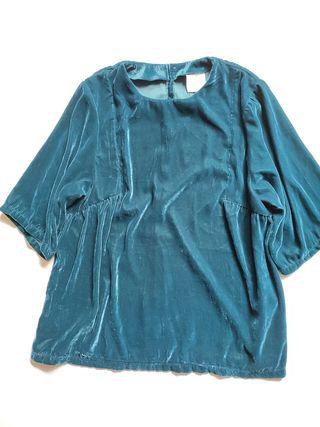 blusa terciopelo