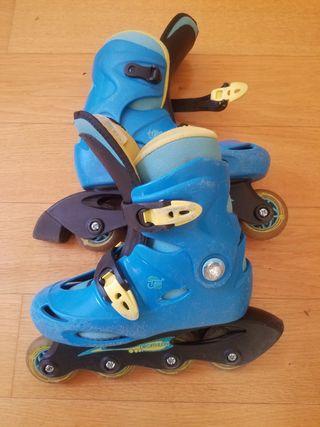 patines línea niño niña talla 30-31