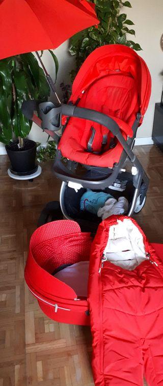 carrito bebe stokke cursi