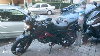 Moto KSR BLACK EDITION