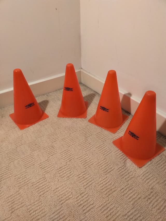 Umbro cones for football or skating