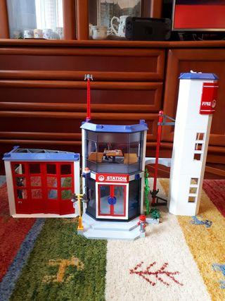 Playmobil parque de bomberos