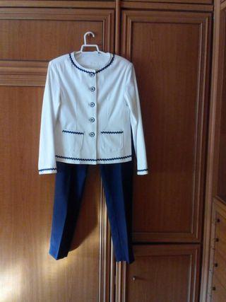 conjunto chaqueta y pantalon talla 42