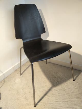 Wood black Vilmar chair