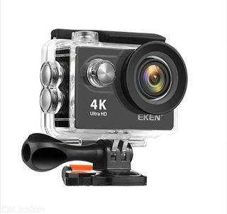Cámara acuática tipo GoPro marca EKEN 4K