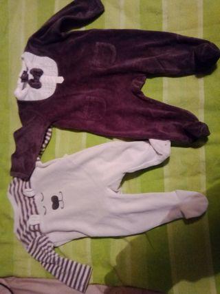 lote 2 pijamas bebé