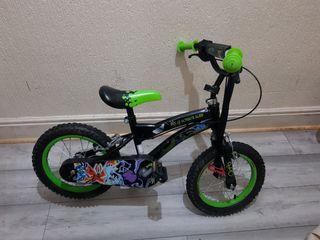 Ben 10 childs bike