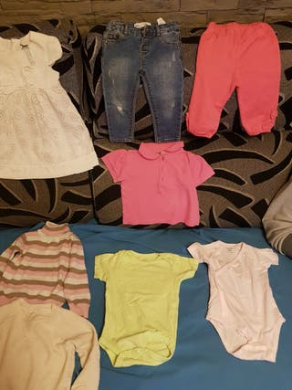 ropa bebe 1 año