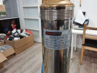 Bomba De Agua Sumergible Para Pozo, 1500W/2CV, 6m3