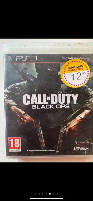Call of duty Black Ops y Modern Warfare 2