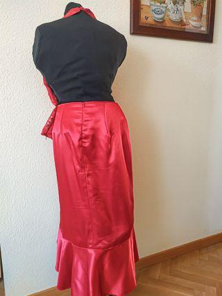 falda y corpiño fiesta talla 42