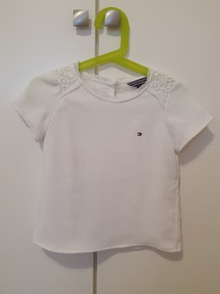 Tommy hilfiger - Camiseta niña 104 cm