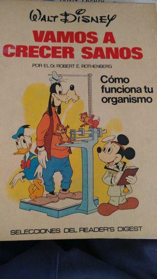 Libro de Walt Disney.