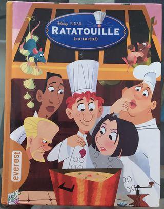 Libro pelicula Ratatouille (ra-ta-tui) de everets.