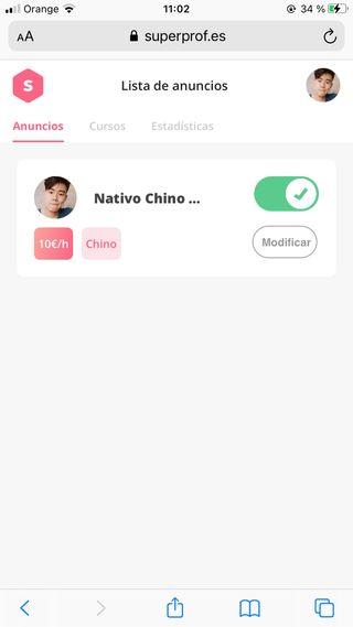 Clases de Chino a Hispanohablantes Online