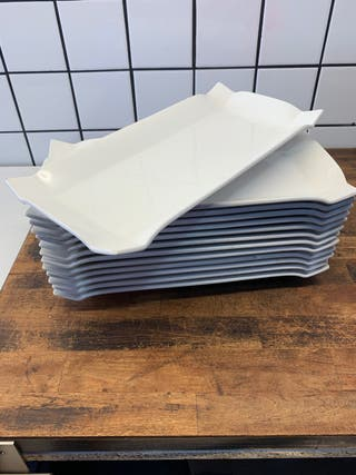 Platos rectangulares summa calidad premium